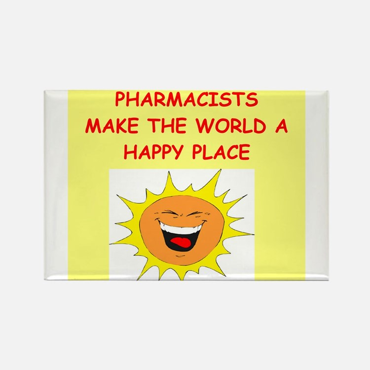 pharmacists Rectangle Magnet