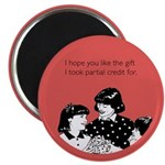 Partial Credit Gift Magnet