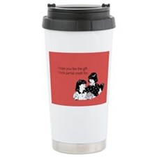 Partial Credit Gift Stainless Steel Travel Mug