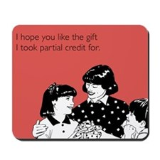 Partial Credit Gift Mousepad