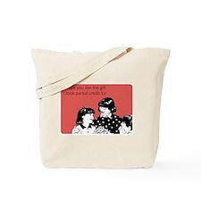 Partial Credit Gift Tote Bag