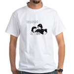 Partial Credit Gift White T-Shirt