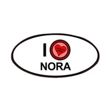 I Love Nora Brothers & Sisters Patches
