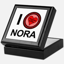 I Love Nora Brothers & Sisters Keepsake Box
