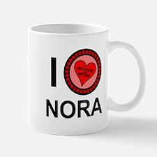 I Love Nora Brothers & Sisters Mug