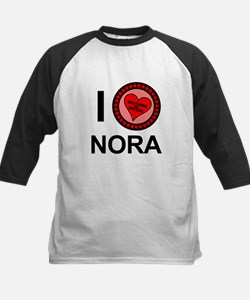 I Love Nora Brothers & Sisters Tee