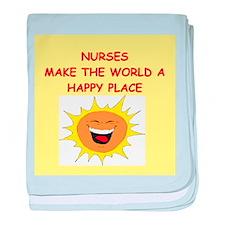 nurses baby blanket