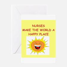 nurses Greeting Card