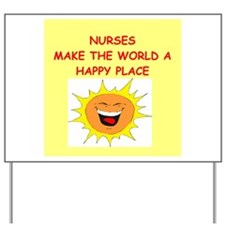 nurses Yard Sign
