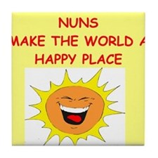 nuns Tile Coaster