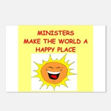 minister Postcards (Package of 8)