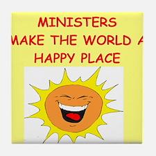 minister Tile Coaster