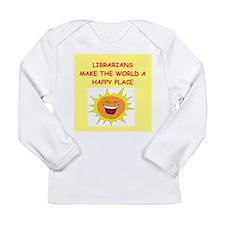 librarians Long Sleeve Infant T-Shirt