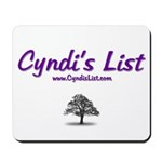 Cyndi's List Mousepad