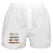 Otherwise Known Best Grandma Boxer Shorts