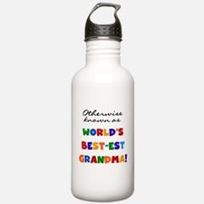Otherwise Known Best Grandma Water Bottle