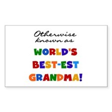 Otherwise Known Best Grandma Decal