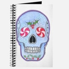 Christmas Skull Journal