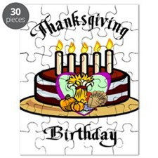 Thanksgiving Birthday Puzzle