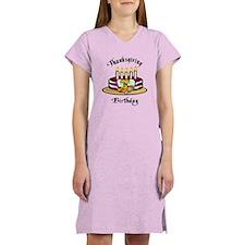 Thanksgiving Birthday Women's Nightshirt