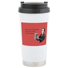 Sexually Violated Gift Stainless Steel Travel Mug
