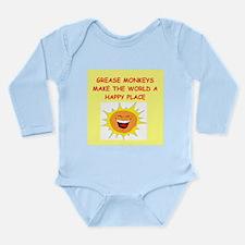 mechanics Long Sleeve Infant Bodysuit