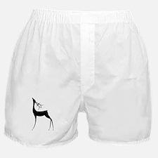 Elegant Reindeer Games Boxer Shorts