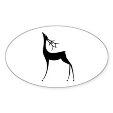Elegant Reindeer Games Decal