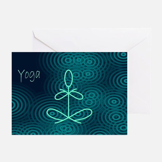 Winter Yoga Greeting Cards (Pk of 10)