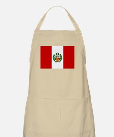 Flag of Peru BBQ Apron