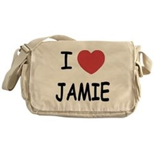 I heart jamie Messenger Bag