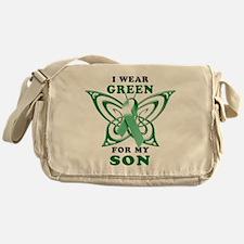 I Wear Green for my Son Messenger Bag