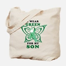 I Wear Green for my Son Tote Bag