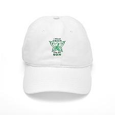 I Wear Green for my Son Baseball Cap