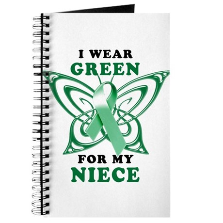 I Wear Green for my Niece Journal