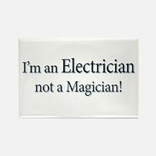 I'm an Electrician not a Magi Rectangle Magnet