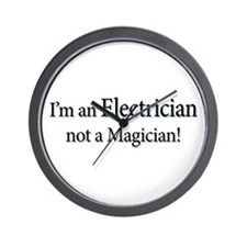I'm an Electrician not a Magi Wall Clock