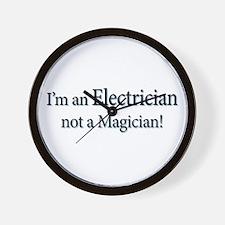 I'm an Electrician not a Magi Wall Clock