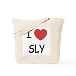 I heart sly Tote Bag