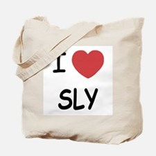 I heart sly Tote Bag