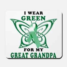 I Wear Green for my Great Gra Mousepad