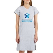 Northwestern Crest Women's Nightshirt