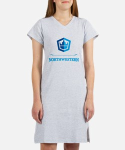 Northwestern Crest Women's Nightshirt
