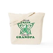I Wear Green for my Grandpa Tote Bag