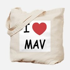 I heart mav Tote Bag