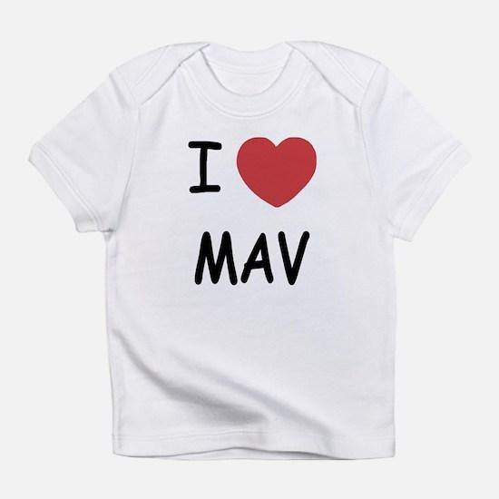 I heart mav Infant T-Shirt
