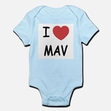 I heart mav Infant Bodysuit