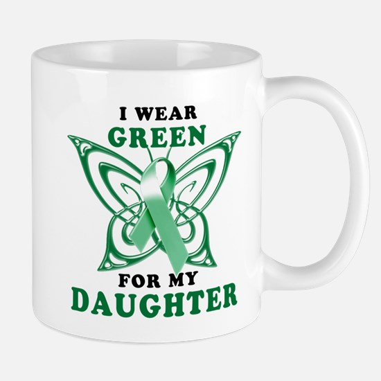 I Wear Green for my Daughter Mug