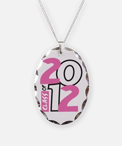 BIG Class of 2012 Necklace Oval Charm