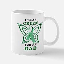 I Wear Green for my Dad Mug